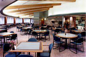 Corporate headqurters cafeteria