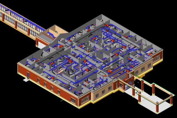 VA Clinic Being Designed in BIM