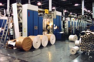 Magazine Printing Plant Expansions