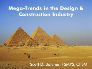 Mega Trends ni Design and Construction