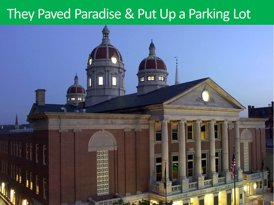 The Energy Symphony: They Paved Paradise & Put Up a Parking Lot