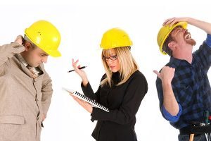 Construction, Communication & Chaos: Managing Projects on the Fly