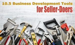 10.5 Tools for Seller-Doers