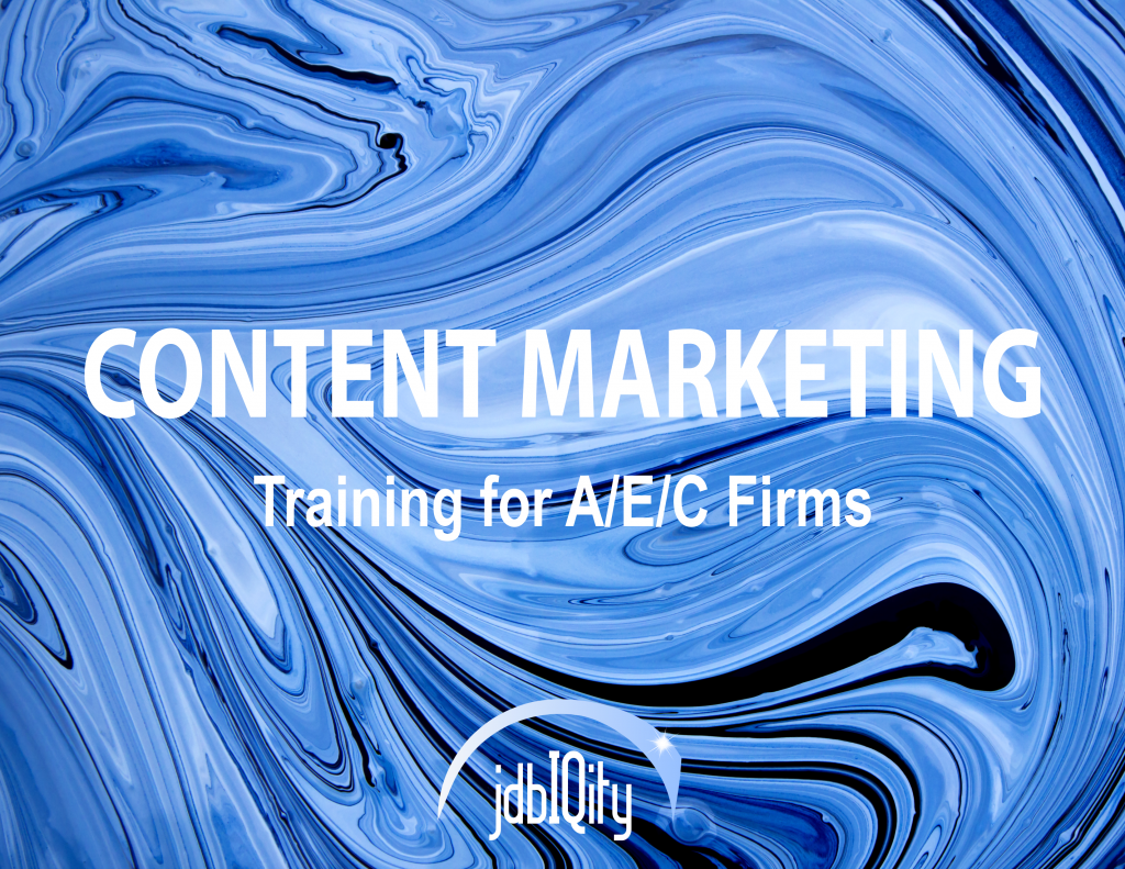 Content Marketing Training from jdbIQity