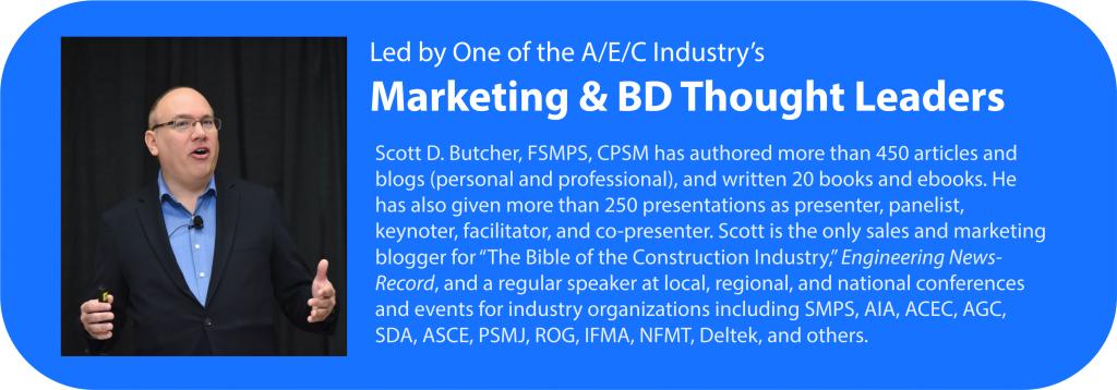 Scott D. Butcher, A/E/C Thought Leader